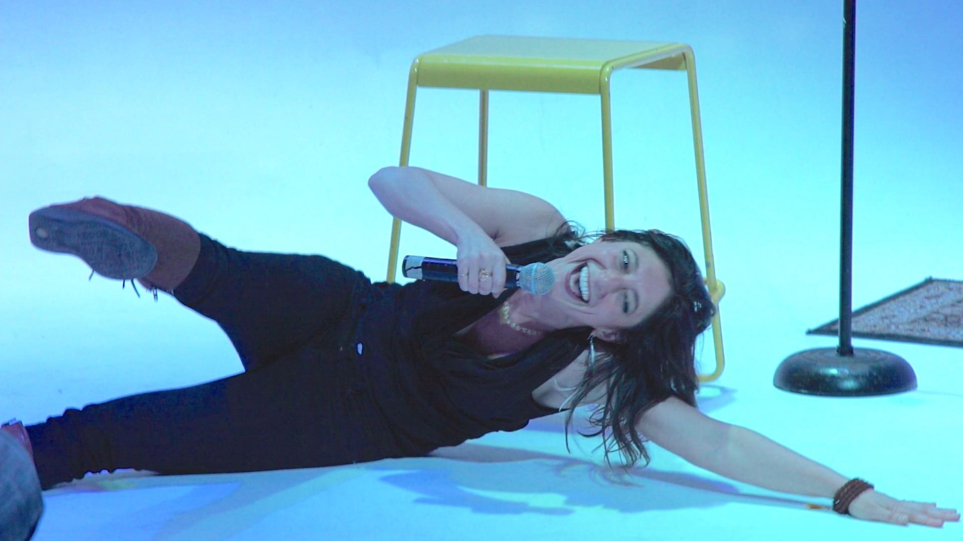 Comedian Alicia Dattner